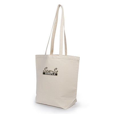 UltraClub Jumbo Tote with Gusset - EZ Corporate Clothing  - 1