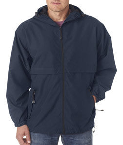 UltraClub Microfiber Hooded Zip-Front Jacket - EZ Corporate Clothing  - 5