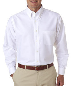 UltraClub Mens Classic Wrinkle-Free Long-Sleeve Oxford - EZ Corporate Clothing  - 10
