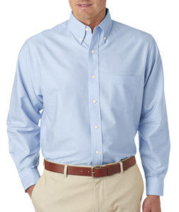 UltraClub Mens Classic Wrinkle-Free Long-Sleeve Oxford - EZ Corporate Clothing  - 6