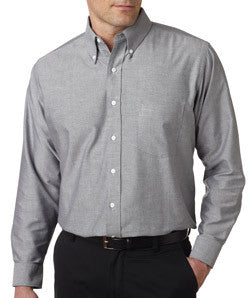 UltraClub Mens Classic Wrinkle-Free Long-Sleeve Oxford - EZ Corporate Clothing  - 4