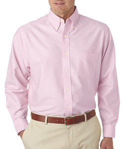 UltraClub Mens Classic Wrinkle-Free Long-Sleeve Oxford - EZ Corporate Clothing  - 8