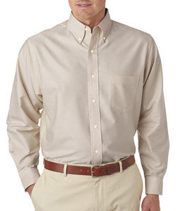 UltraClub Mens Classic Wrinkle-Free Long-Sleeve Oxford - EZ Corporate Clothing  - 9