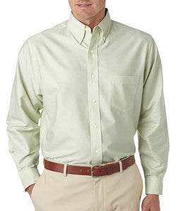 UltraClub Mens Classic Wrinkle-Free Long-Sleeve Oxford - EZ Corporate Clothing  - 7