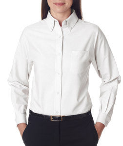 UltraClub Ladies Classic Wrinkle-Free Long-Sleeve Oxford - EZ Corporate Clothing  - 9