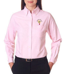 UltraClub Ladies Classic Wrinkle-Free Long-Sleeve Oxford - EZ Corporate Clothing  - 7