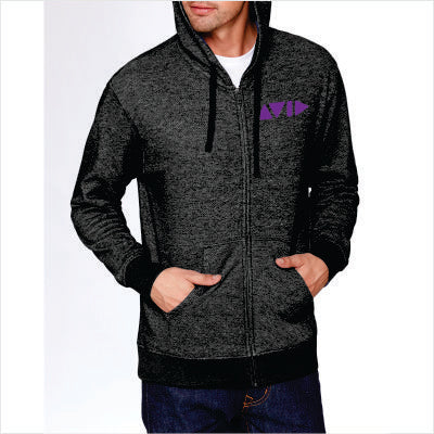 Next Level Adult Denim Fleece Full-Zip Hoody for AVID- 9600