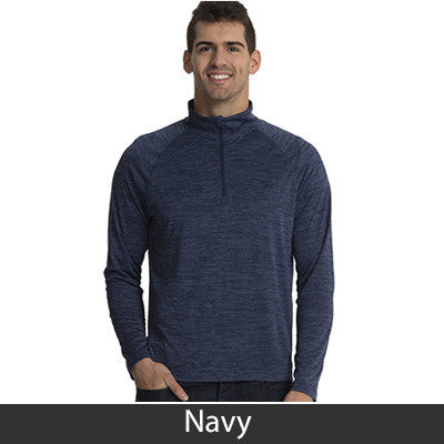 Charles River Men's Space Dye Performance Pullover - CR9763