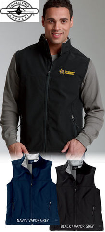 Charles River Mens Soft Shell Vest - EZ Corporate Clothing  - 2