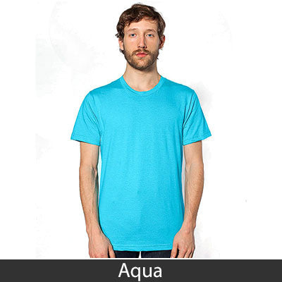 American Apparel Unisex Fine Jersey Short Sleeve T-Shirt - EZ Corporate Clothing  - 2