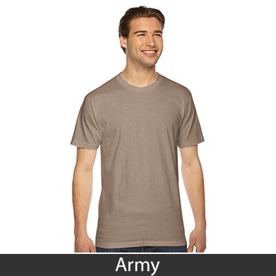American Apparel Unisex Fine Jersey Short Sleeve T-Shirt - EZ Corporate Clothing  - 3