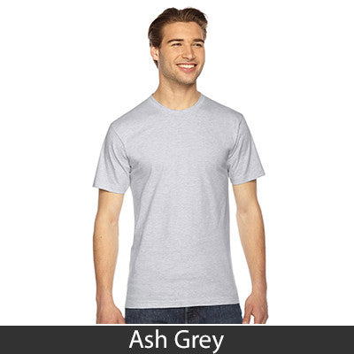 American Apparel Unisex Fine Jersey Short Sleeve T-Shirt - EZ Corporate Clothing  - 4