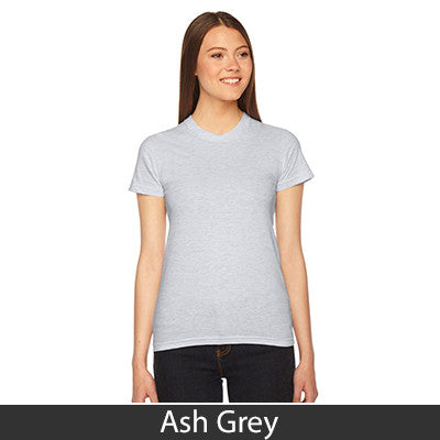 American Apparel Fine Jersey Short Sleeve Womens T - EZ Corporate Clothing  - 4