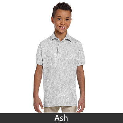 Jerzees Youth 5.6oz, 50/50 Jersey Polo With SpotShield - EZ Corporate Clothing  - 2