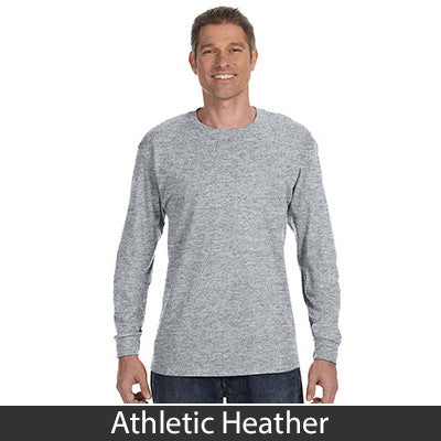 Jerzees Adult Long-Sleeve Heavyweight Blend T-Shirt - EZ Corporate Clothing  - 3