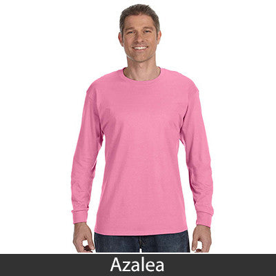 Jerzees Adult Long-Sleeve Heavyweight Blend T-Shirt - EZ Corporate Clothing  - 4