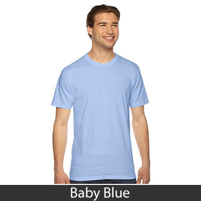 American Apparel Unisex Fine Jersey Short Sleeve T-Shirt - EZ Corporate Clothing  - 9