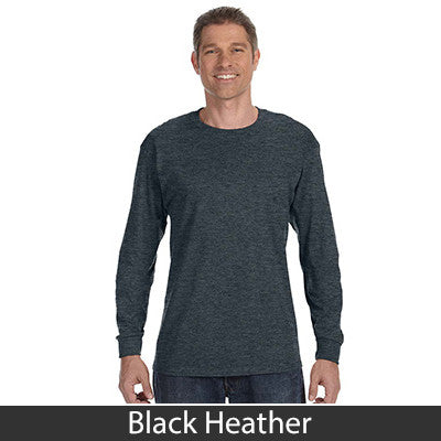 Jerzees Adult Long-Sleeve Heavyweight Blend T-Shirt - EZ Corporate Clothing  - 6
