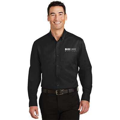 Biocare Medical SuperPro Twill Shirt - Port Authority S663 - EMB
