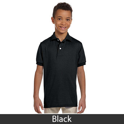 Jerzees Youth 5.6oz, 50/50 Jersey Polo With SpotShield - EZ Corporate Clothing  - 3