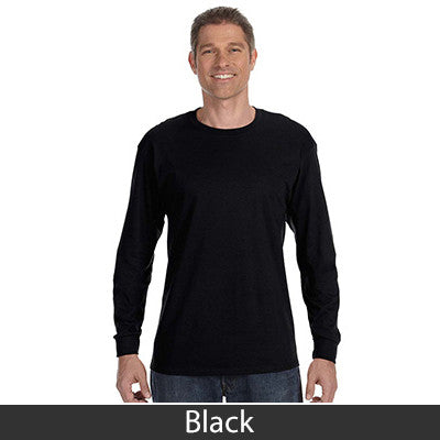 Jerzees Adult Long-Sleeve Heavyweight Blend T-Shirt - EZ Corporate Clothing  - 5
