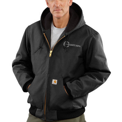 Carhartt Duck Active Jacket - Quilted Flannel Lined - EZ Corporate Clothing  - 1