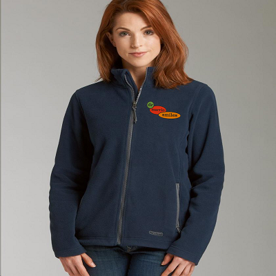 Charles River Womens Boundary Fleece Jacket