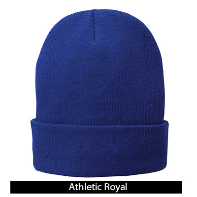 Port & Company Fleece-Lined Knit Beanie Cap