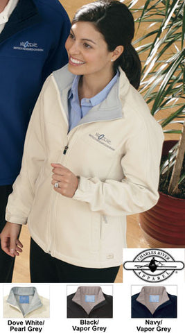 Charles River Womens Soft Shell Jacket - EZ Corporate Clothing  - 2