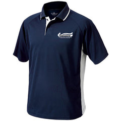 Charles River Mens Color Blocked Wicking Polo