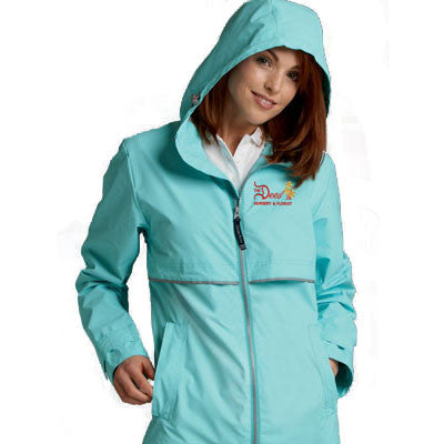 Charles River Womens Rain Jacket - EZ Corporate Clothing  - 1
