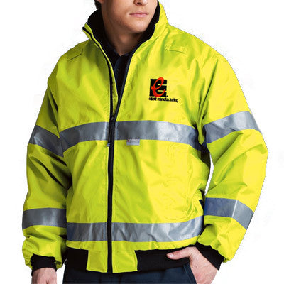 Charles River Signal Hi-Vis Jacket - EZ Corporate Clothing  - 1