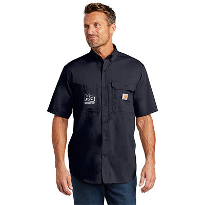 Carhartt Solid Short-Sleeve Button-Down Shirt