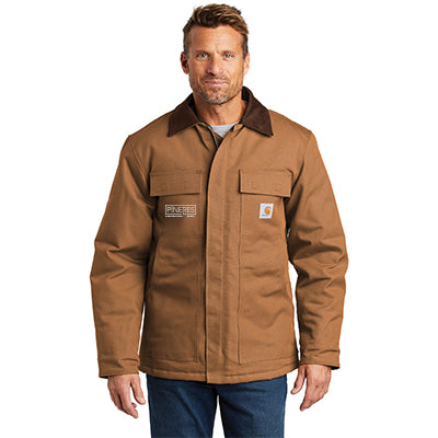 Carhartt Duck Traditional Coat - Arctic Quilt Lined