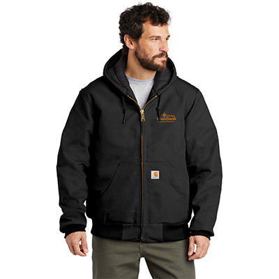 Carhartt Duck Active Jacket - Quilted Flannel Lined [Tall]