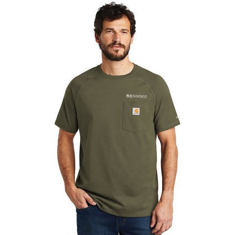 Carhartt Moisture-Wicking Short Sleeve Pocket T-Shirt