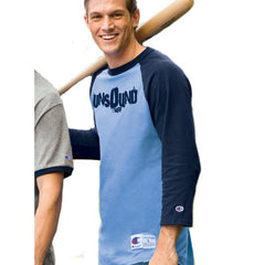 Champion 6.1oz. Tagless Raglan Baseball T-Shirt - EZ Corporate Clothing  - 1