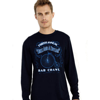 Champion Adult Double Dry Long-Sleeve Interlock T-Shirt - EZ Corporate Clothing  - 1