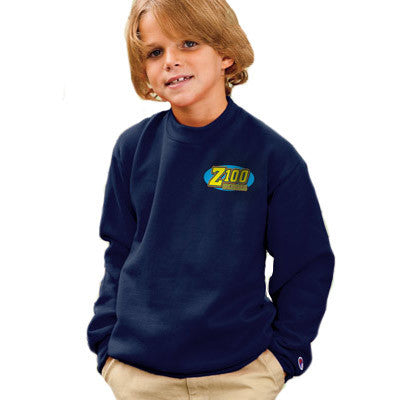 Champion Youth 50/50 Crewneck Sweatshirt - EZ Corporate Clothing  - 1