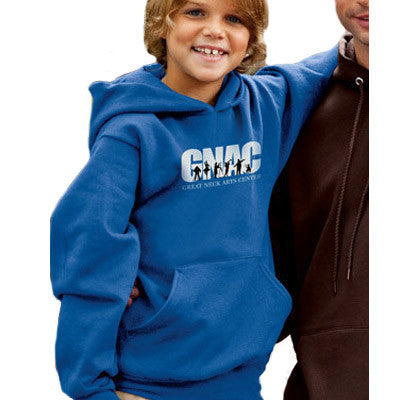 a564af48fdf9 Champion Youth 50 50 Pullover Hooded Sweatshirt - EZ Corporate Clothing - 1  ...