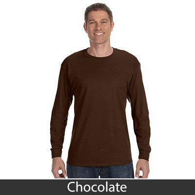Jerzees Adult Long-Sleeve Heavyweight Blend T-Shirt - EZ Corporate Clothing  - 11