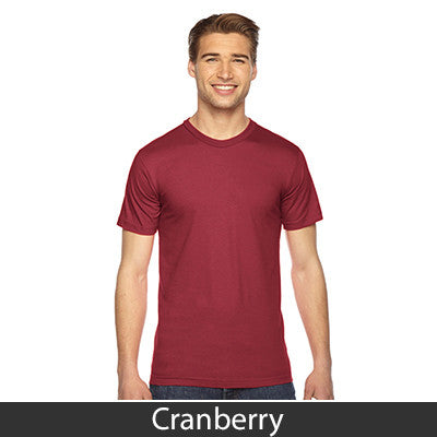 American Apparel Unisex Fine Jersey Short Sleeve T-Shirt - EZ Corporate Clothing  - 15