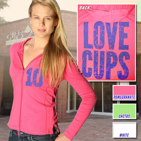 Kavio Ladies Hoody - Love Cups - EZ Corporate Clothing