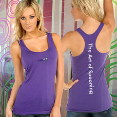 Kavio Junior Sheer Racerback Tank - The Art Of Spooning - EZ Corporate Clothing