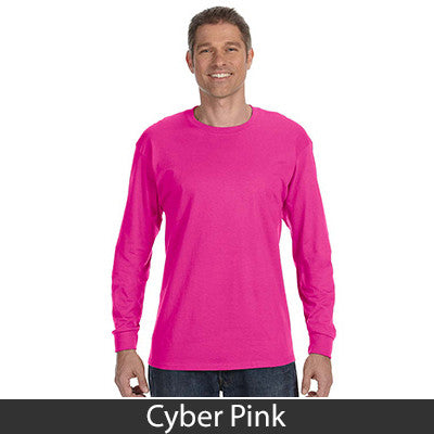 Jerzees Adult Long-Sleeve Heavyweight Blend T-Shirt - EZ Corporate Clothing  - 14