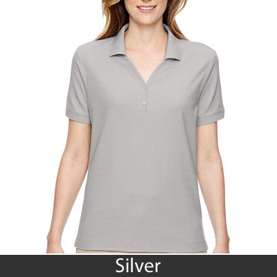 Devon & Jones Ladies Pima Pique Short-Sleeve Y-Collar Polo - EZ Corporate Clothing  - 17