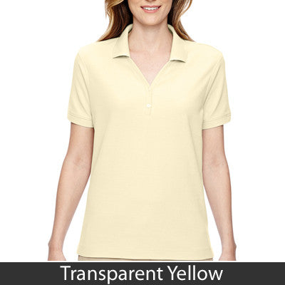 Devon & Jones Ladies Pima Pique Short-Sleeve Y-Collar Polo - EZ Corporate Clothing  - 20