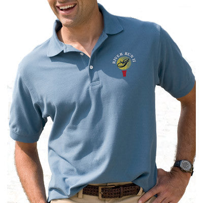 Devon & Jones Mens Pima Pique Short-Sleeve Polo