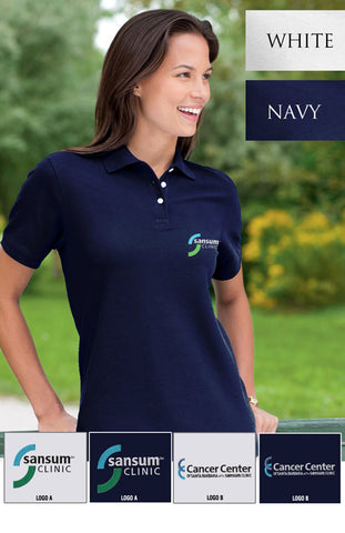 Sansum Clinic Devon & Jones Ladies Pima Pique Polo - EZ Corporate Clothing  - 2