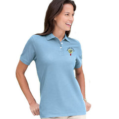 Devon & Jones Ladies Pima Pique Short-Sleeve Polo - EZ Corporate Clothing  - 1